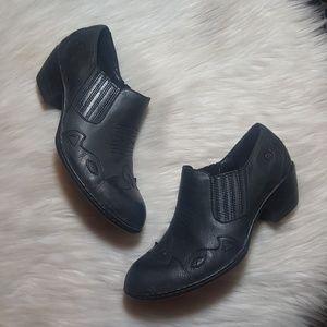 Born Amibeth Western Booties